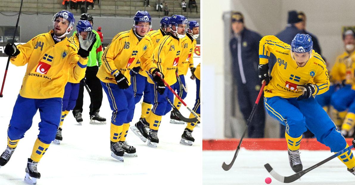 Sverige, bandy-VM, Simon Jansson, Kazakstan