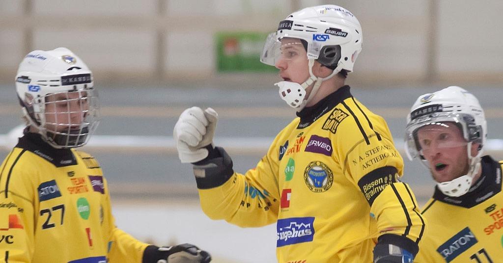 Broberg, Martin Söderberg, åttondelsfinal