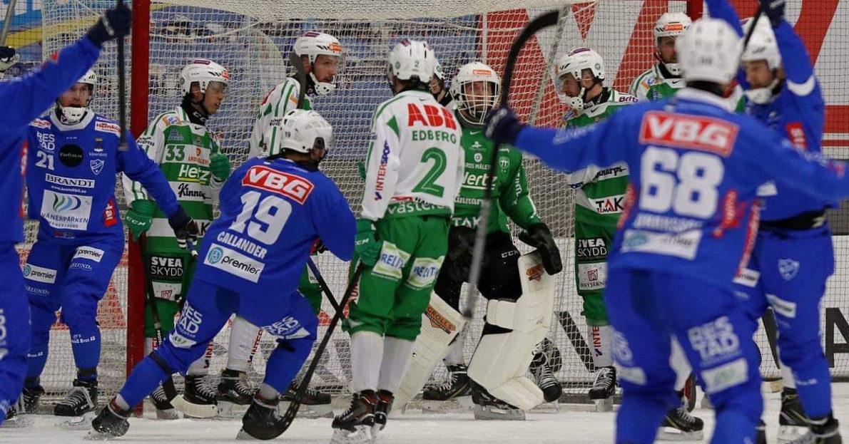VSK föll i förlängningen , VSK, Västerås, Martin Landström, andra kvartsfinalen, Vänersborg,