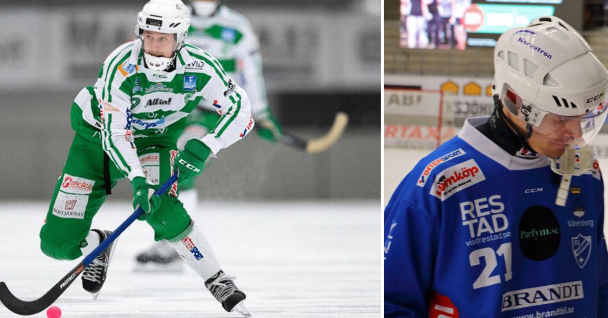 VSK, Västerås, Vänersborg, Martin Landström, Robin Öhrlund, kvartsfinal, VSK har skaffat sig matchboll i kvartsfinalen, kvartsfinalen