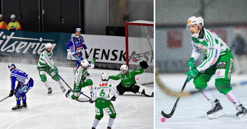 VSK, Villa, SM-final, SM-finalen mot Villa, Simon Jansson
