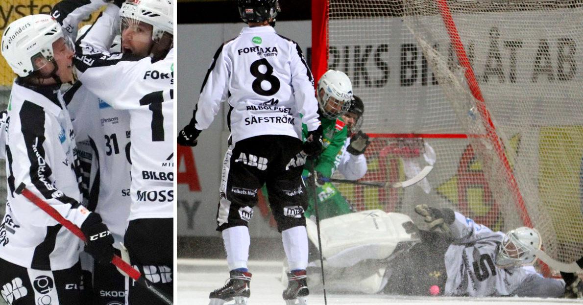 SAIK, Sandviken, kvartsfinalen, fjärde kvartsfinalen, fjärde kvartsfinalmatchen, kvartsfinalmötet, Hammarby, SAIK tvingade fram femte avgörande