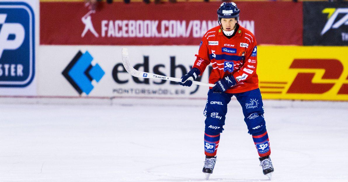 Fredrik Åström Edsbyn bandy, comeback
