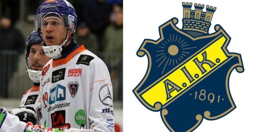 Patrik Nilsson klar för AIK, Patrik Nilsson