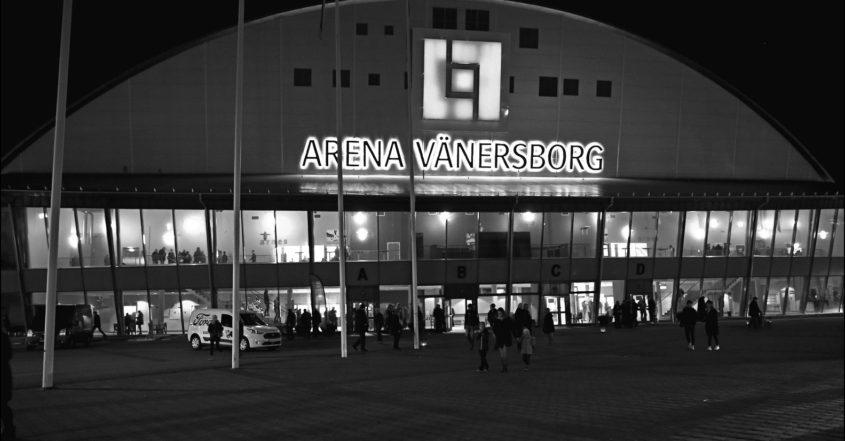 Arena Vänersborg, läcker in vatten, vattenläckage, IFK, IFK Vänersborg