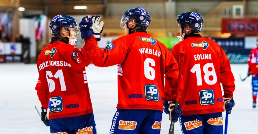 Edsbyn, Svenska cupen, Svenska cupen 2019, Simon Jansson, Edsbyn vann mot VSK, Västerås, Jansson, vände och vann
