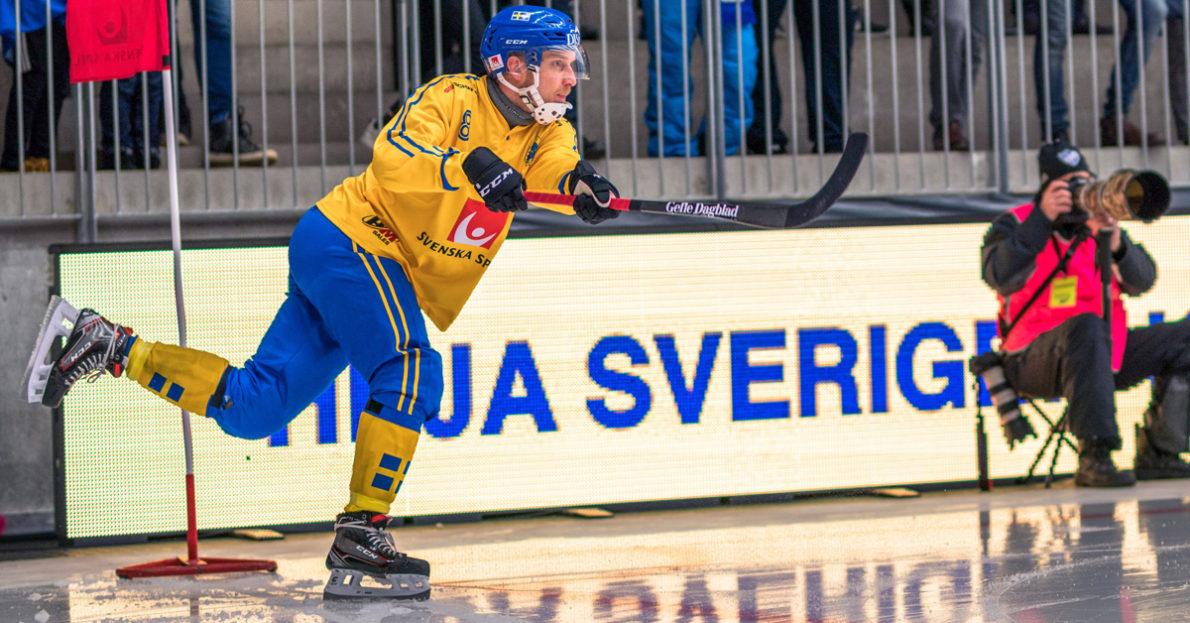 Sverige, landslaget, Krasnojarsk, Jenisej, vann, Sverige vann mot Jenisej