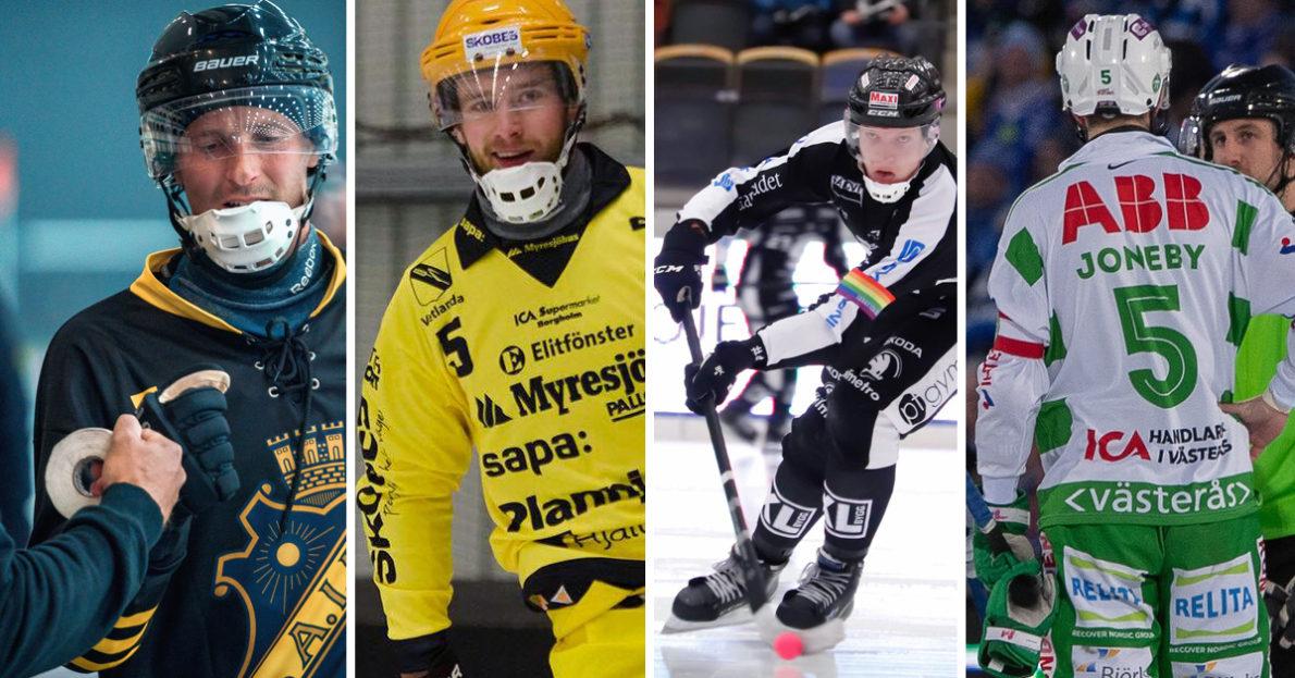 Träningsmatcher bandy, Vetlanda, SAIK, VSK, Västerås, Sandviken, AIK
