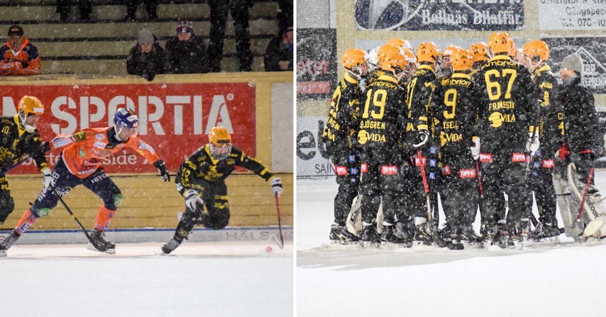 Åby/Tjureda förlorade mot Bollnäs, Åby/Tjureda