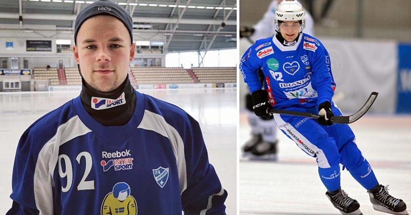 Jesper Öhrlund, Öhrlund trivs i rollen som forward, IFK, IFK Vänersborg