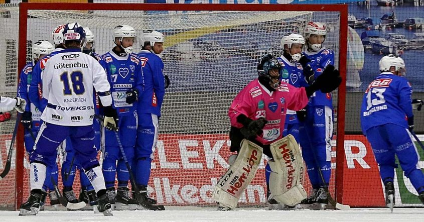 Kimmo Kyllönen storspelade, Kimmo Kyllönen, IFK Vänersborg förlorade mot Villa