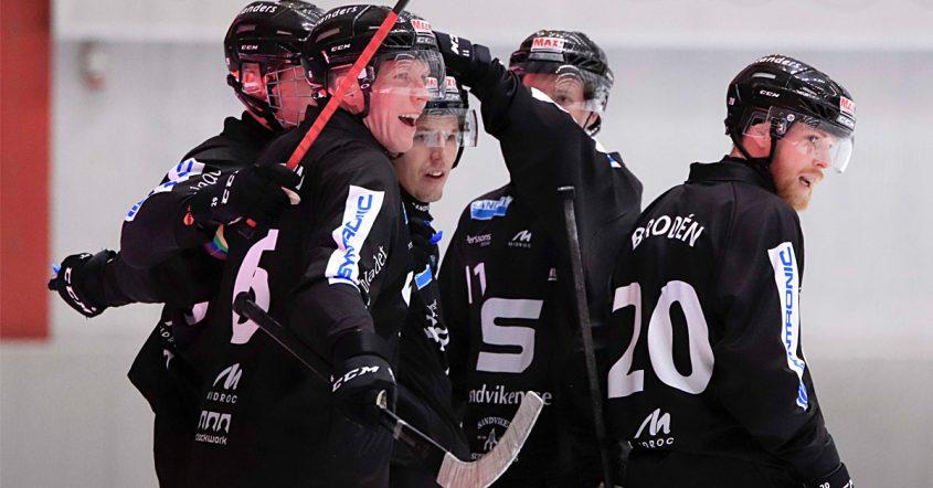 SAIK, SAIK vann mot Vetlanda, Sandviken, David Brodén, poäng