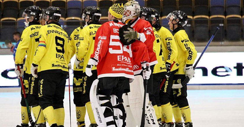 VBK, Vetlanda förlorade mot SAIK, VBK har haft en tuff vecka, förlust, Sandviken, Tobias Nyberg, Nyberg