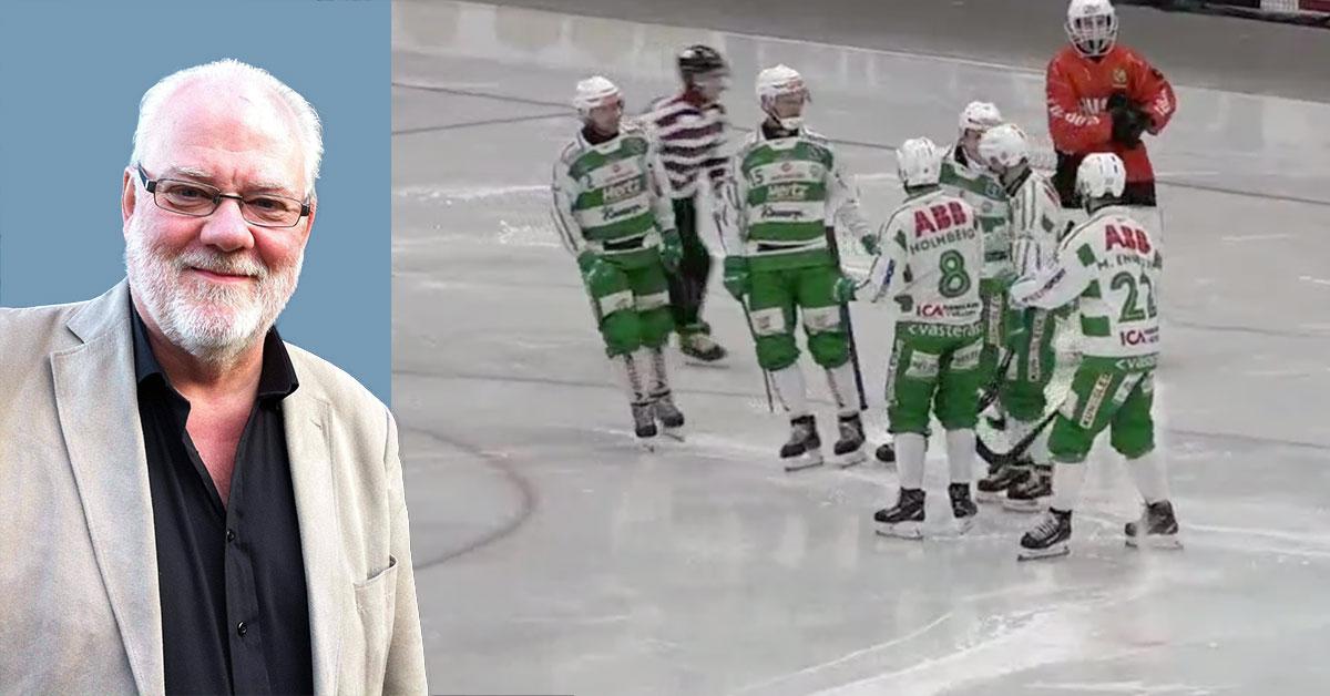 Elitserien, bandy, elitserien bandy, VSK Hammarby skandal, VSK, Västerås, Hammarby, Kjell Anderstedt, grov skandal