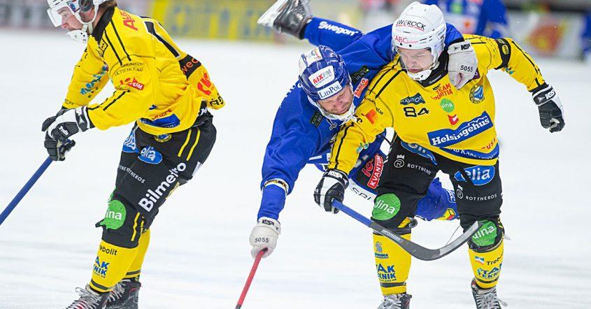 Broberg nära knäcka serieledaren, Magnus Fryklund, Broberg, Brobergsförsvararen Magnus Fryklund, Villa