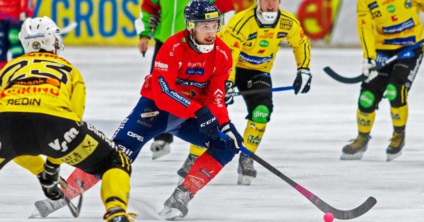Edsbyn, Simon Jansson, förlorade mot Bollnäs, revansch på sig själva mot Vetlanda