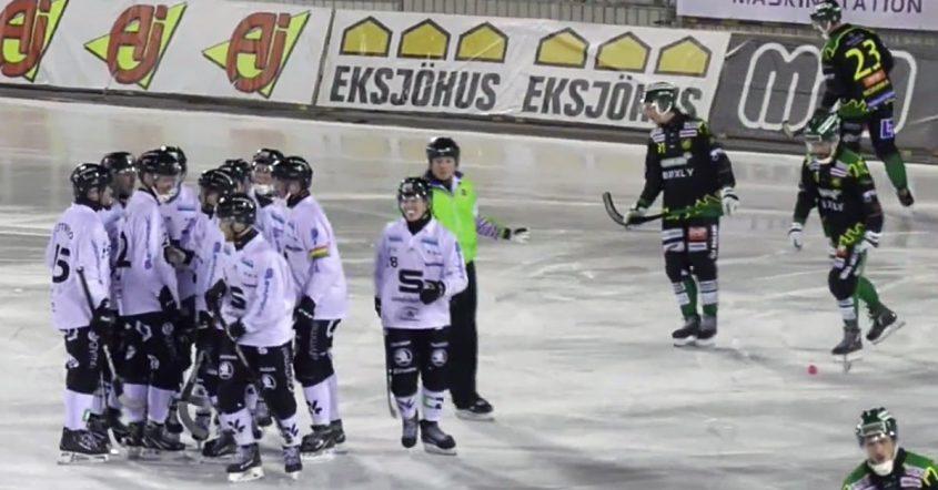 Anton Lööf, Frillesås föll på nytt, otäck skada på Anton Lööf, Frillesås, Sandviken, SAIK, Fredrik Brandin, Brandin