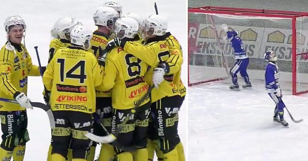 Engström avgjorde, Jonas Engström, Broberg fällde Villa, matchens sista anfall, Villa