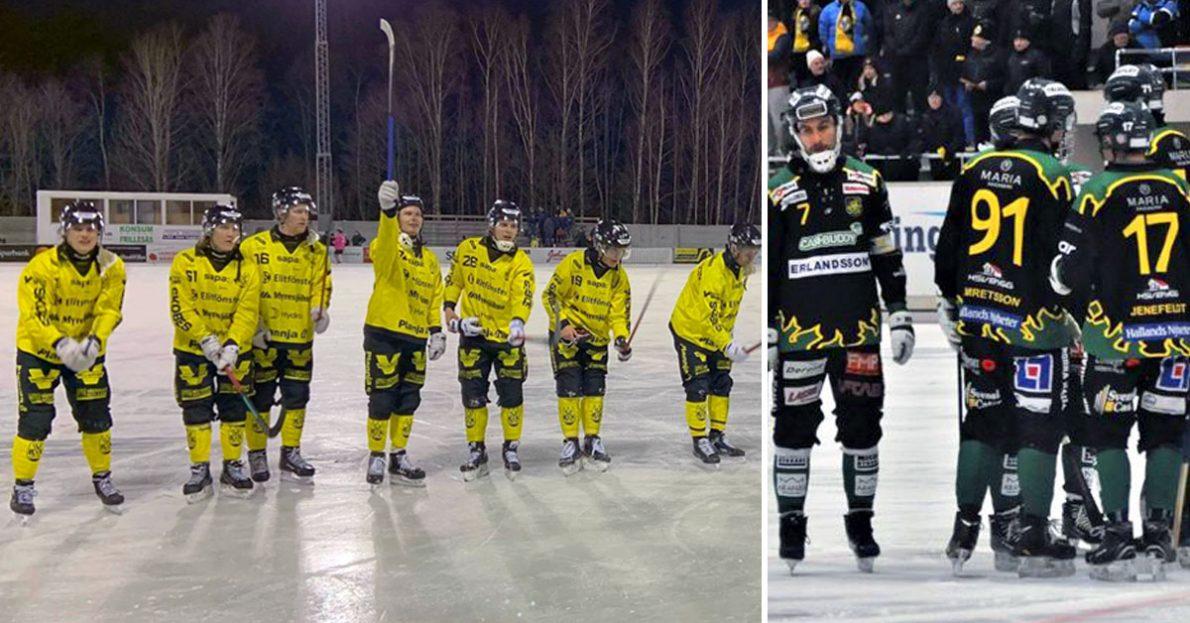 Vetlanda, Frillesås, Vetlanda vann mot Frillesås
