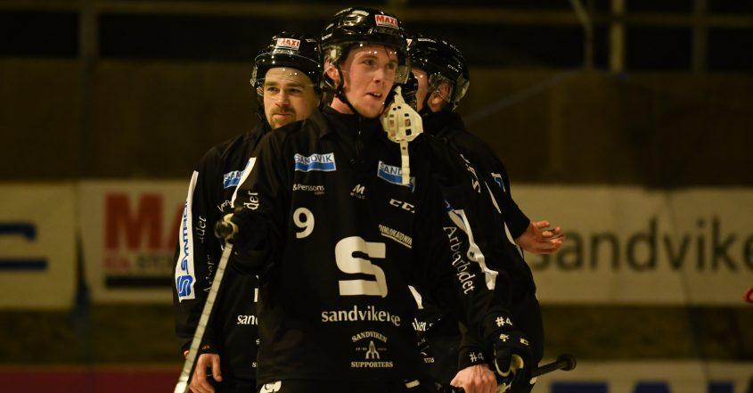 SAIK klart för semi, Sandviken, SAIK Broberg, Broberg, kvartsfinalen, kvartsfinalmötet, semifinal mot Edsbyn, Edsbyn