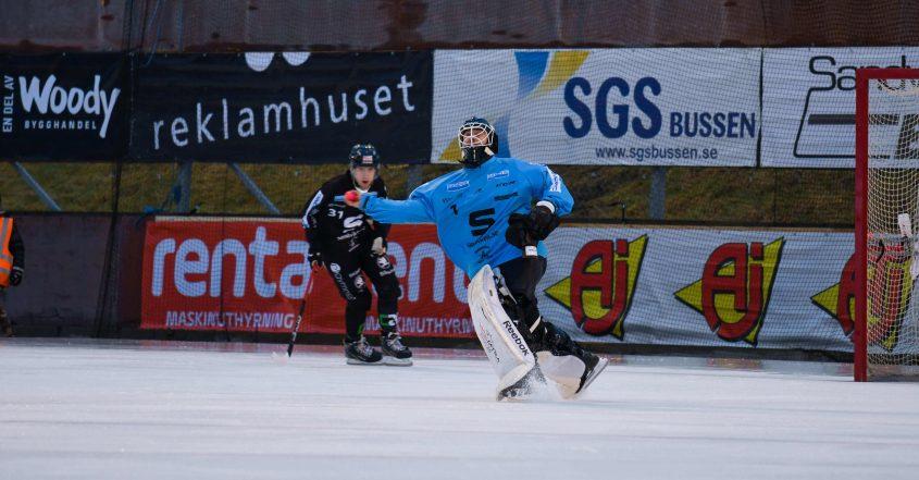 Joel Othén förlänger med SAIK, Joel Othén, målvakten, Sandviken