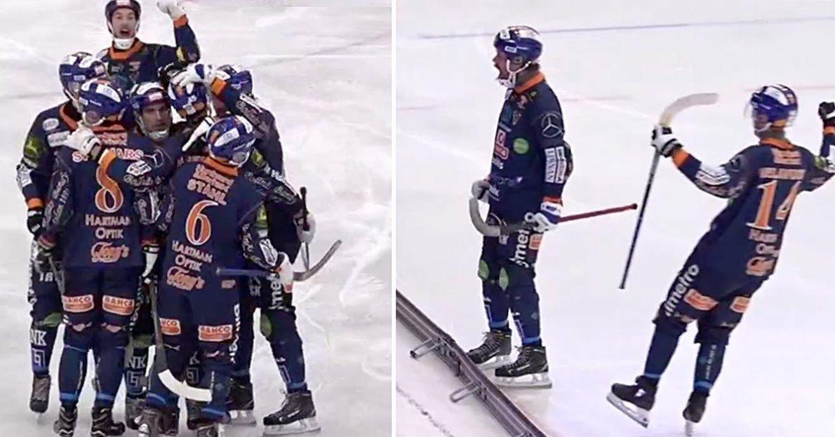 Bollnäs, VSK, klart för semifinal, Bollnäs vann mot Västerås, Villa i semifinal, Daniel Mossberg, Mossberg