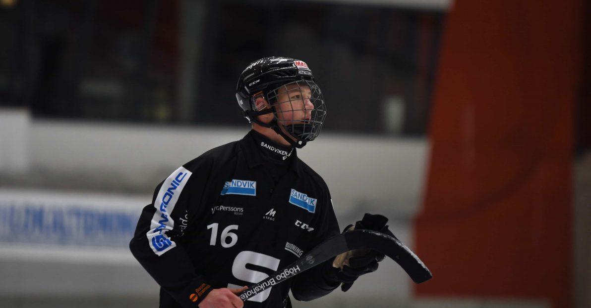 Edvin Isaksson SAIK, Sandviken, 18-åringen, Isaksson, lämnar SAIK