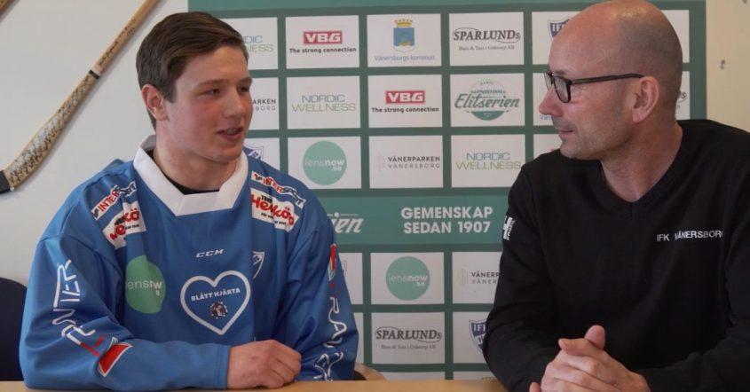 Edvin Isaksson, IFK Vänersborg