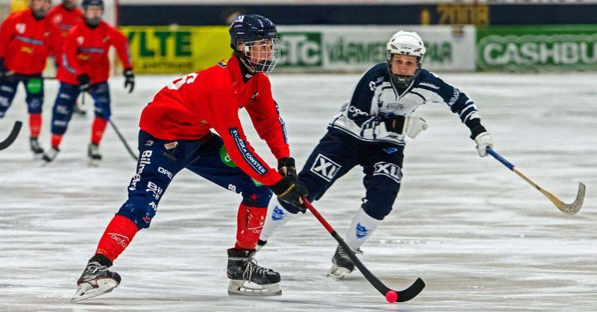 16-åringen, Rasmus Skarps, Edsbyn, stortalangen, flyttas upp i A-laget, öst in poäng, årets pojkspelare,