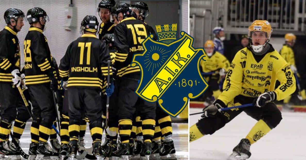 Tobias Nyberg, AIK, klar för AIK