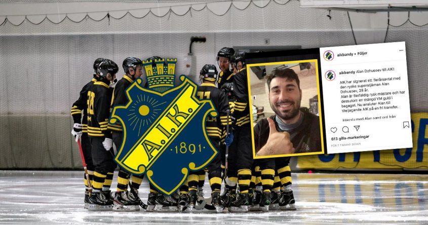 Alan Dzhusoev, AIK