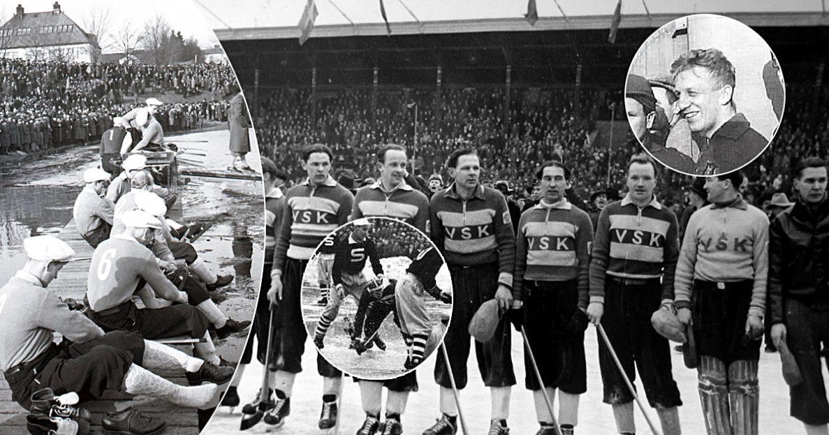 VSK bandy 50-talet, Västerås bandy historia, VSK bandy historia