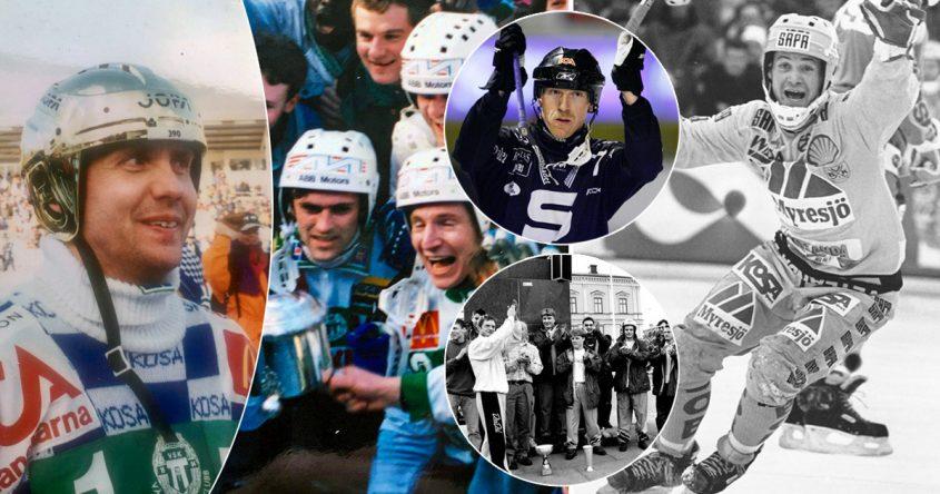 VSK bandy 90-talet, SAIK bandy 90-talet, 1990-talet, bandyns historia