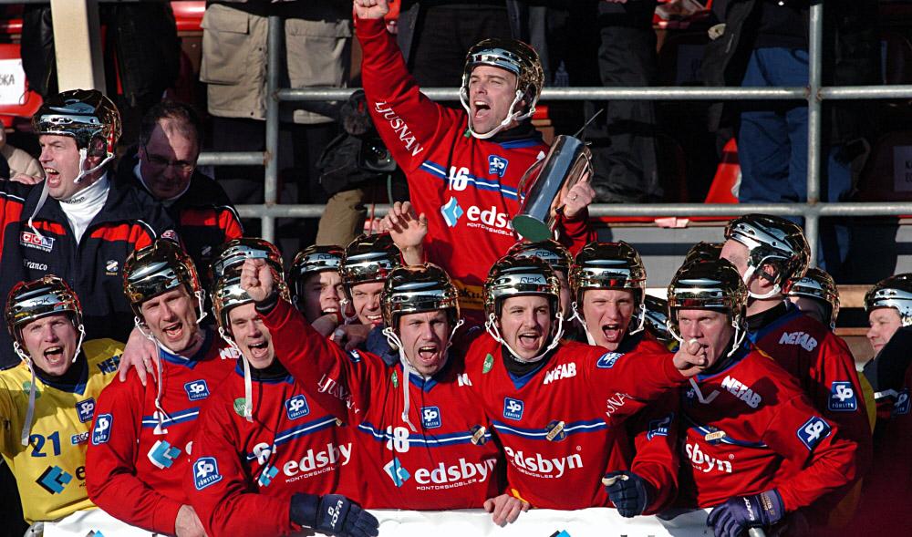 Edsbyn, 2004, SM-guld