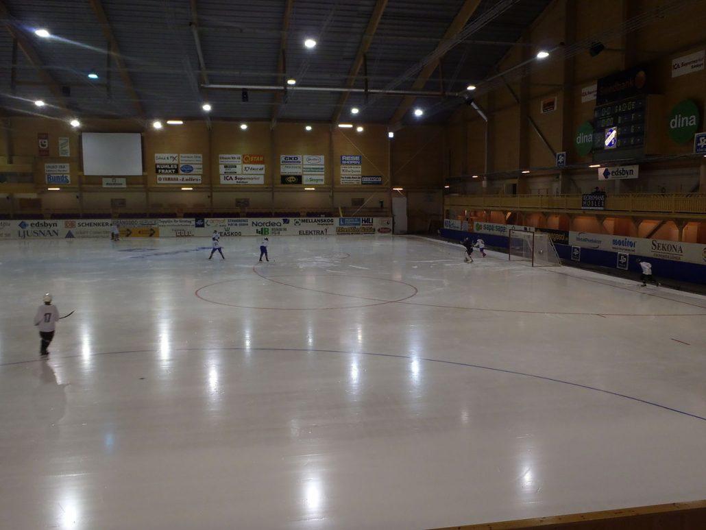 Edsbyns bandyhall, Edsbyn arena, Svenska Fönster arena