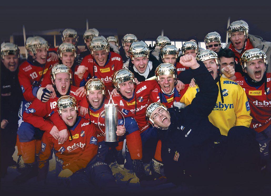 Edsbyn, 2005, SM-guld
