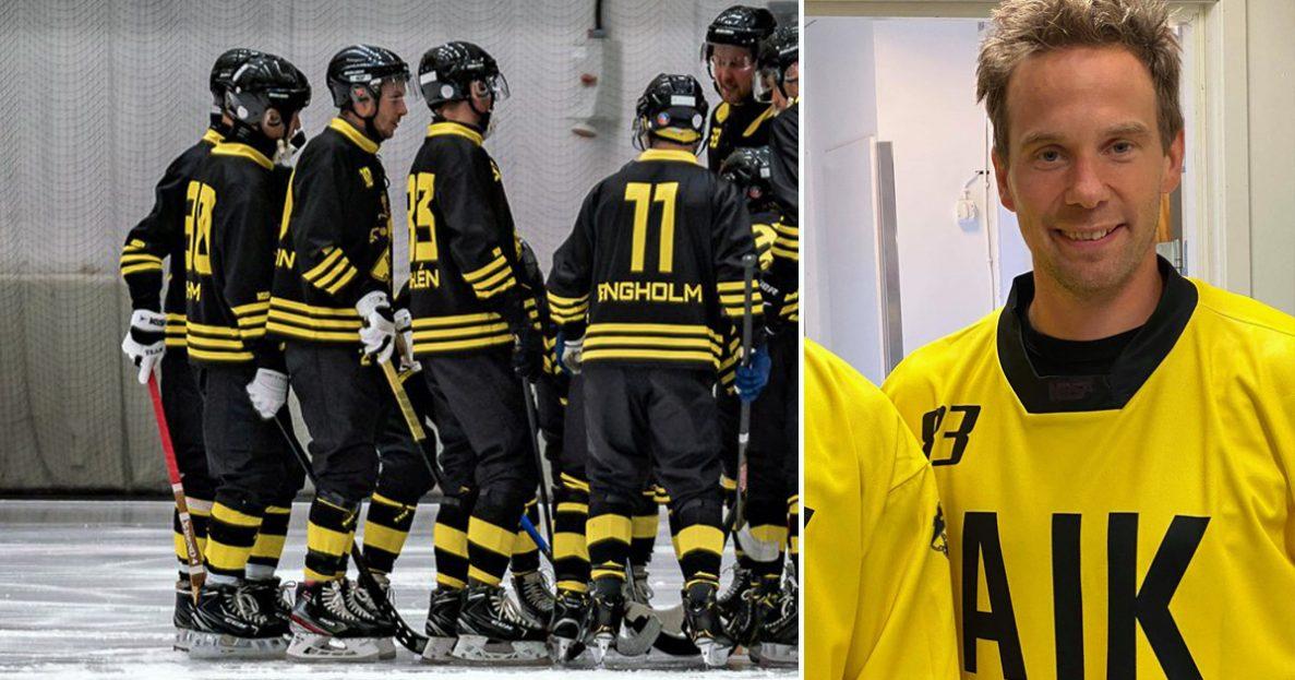 AIK, bandy, Daniel Andersson, Villa, comebackande Daniel Andersson,