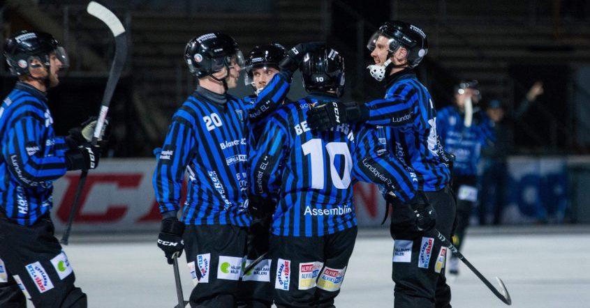 Sirius bandy, Sirius Edsbyn, Ted Haraldsson, Haraldsson