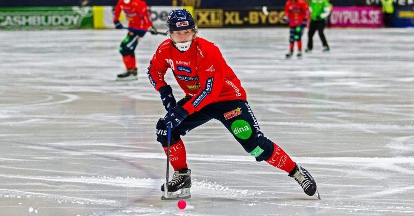 elitserien bandy, bandy elitserien, bandy, Robin Öhrlund Edsbyn bandy