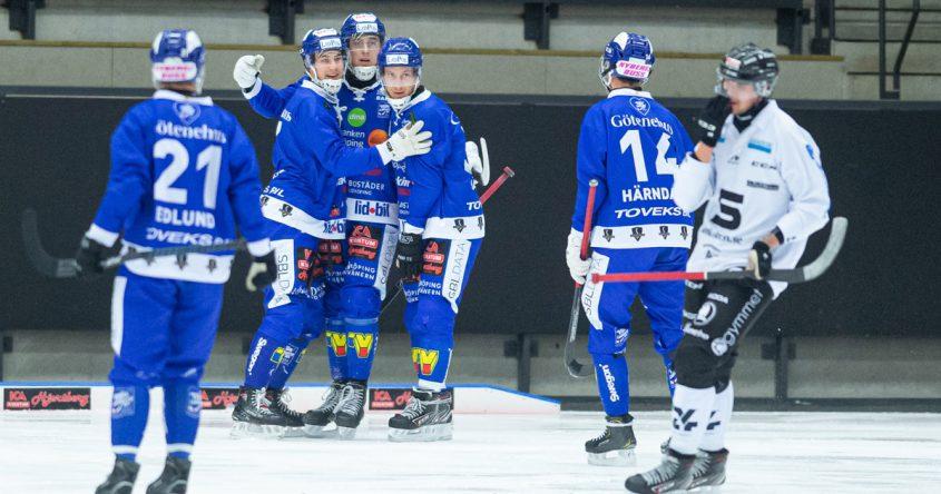 Villa bandy, Villa Lidköping, Villa SAIK, Villa Sandviken, bandy elitserien, semifinalen