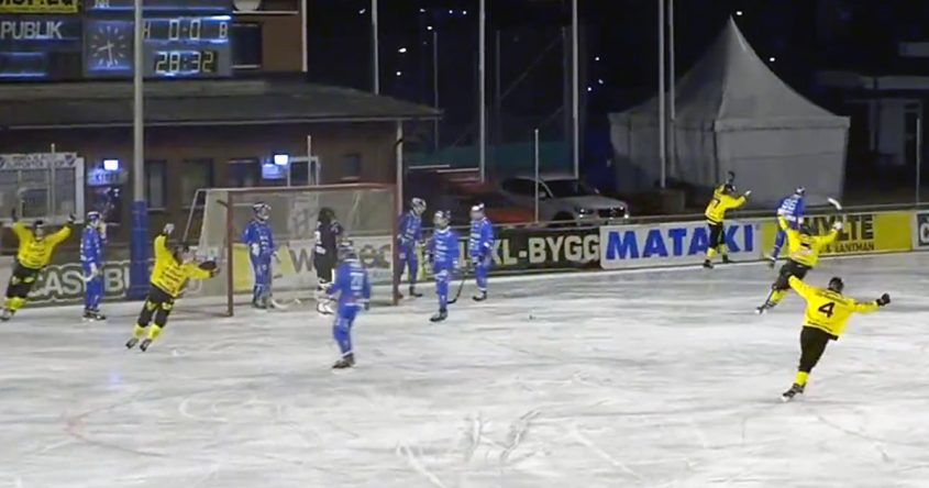 motala bandy, IFK Motala, motala bandy slutspel, motala vetlanda åttondelsfinal