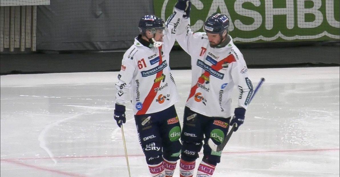 Edsbyn, AIK, Villa Lidköping, SAIK, Sandviken, slutspel, bandy, semifinalerna, semifinalen