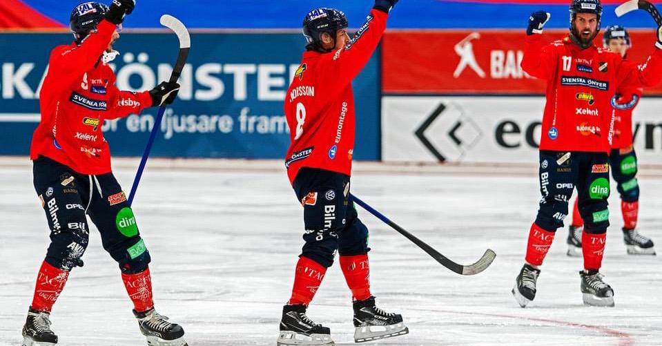 Edsbyn bandy, Edsbyn aik semifinal, aik bandy, Edsbyn bandy semifinalen mot AIK