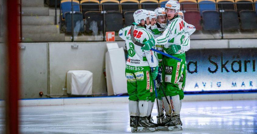 vsk bandy aik, vsk bandy, Västerås bandy, vsk bandy slutspel, vsk bandy kvartsfinal