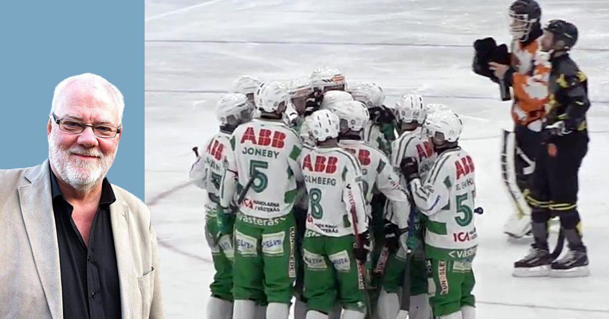 elitserien bandy, bandy, bandyfeber, aik bandy, vsk bandy, Edsbyn, vänersborg