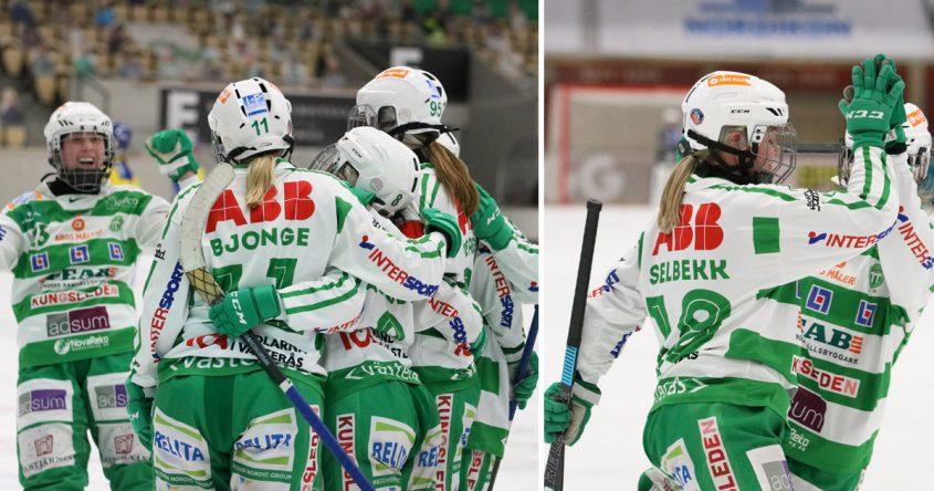 vsk bandy, västerås bandy, SM-final bandy, Charlotte Selbekk