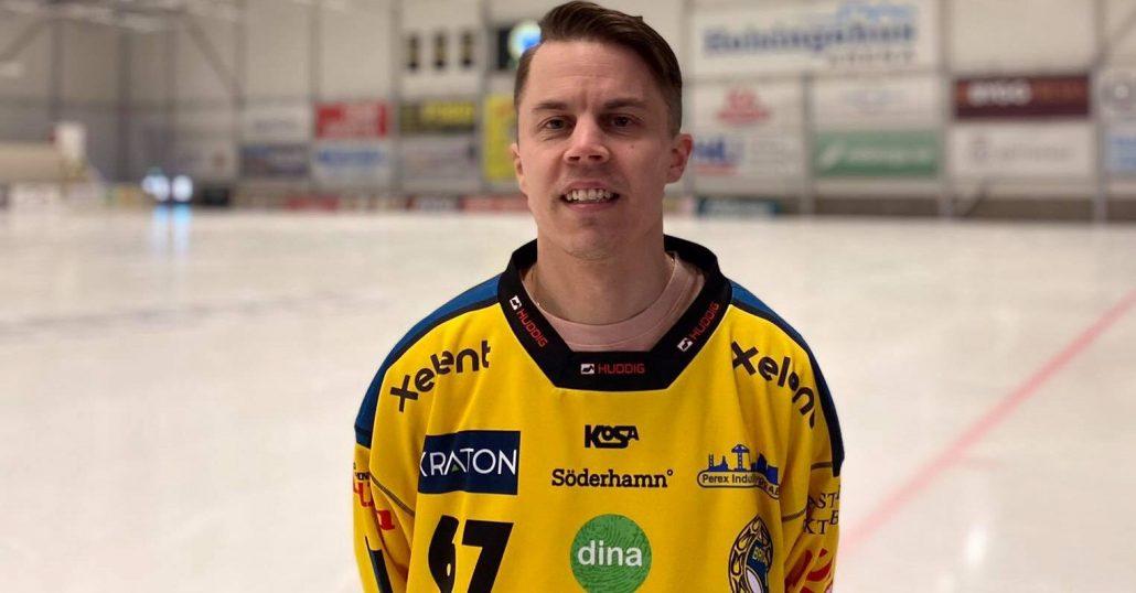 "Daniel Burvall Jonsson, Broberg bandy, ""Popa"""