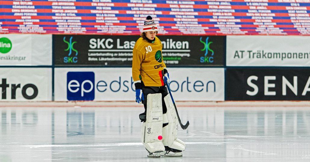 Edsbyn bandy, Edsbyn, Oscar Löfström, bandy, målvakt
