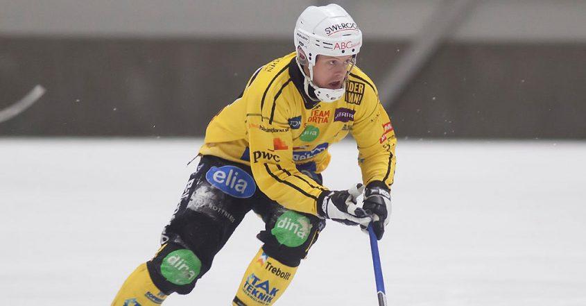 Broberg bandy, Jonas Nygren