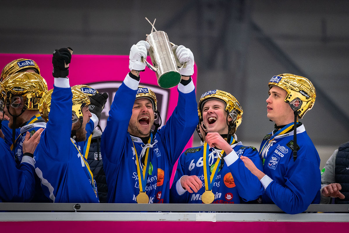 SM-final bandy, villa lidköping, aik bandy, bandy, bandyfinalen, SM-finalen 2021 bandy